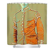 Portrait Of A Young  Wwi Soldier Series 14 Shower Curtain
