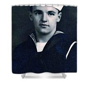 Portrait Of A Young  Wwi Soldier Series 8 Shower Curtain