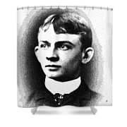 Portrait Of A Youth 36 By Adam Asar -  Asar Studios Shower Curtain