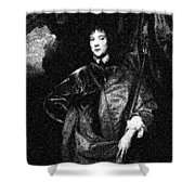 Portrait Of A Youth 43 By Adam Asar -  Asar Studios Shower Curtain