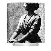 Portrait Of A Youth 44 By Adam Asar -  Asar Studios Shower Curtain