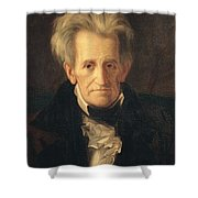 Portrait Of Andrew Jackson Shower Curtain