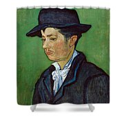 Portrait Of Armand Roulin Shower Curtain