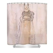 Portrait Of Baroness Papenheim Shower Curtain