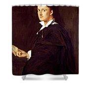 Portrait Of Bartolini Shower Curtain