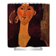 Portrait Of Beatrice Hastings 1915 Shower Curtain
