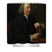Portrait Of Benjamin Stillingfleet Shower Curtain