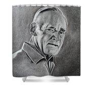 Portrait Of Bud Shower Curtain