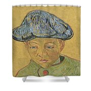 Portrait Of Camille Roulin Shower Curtain