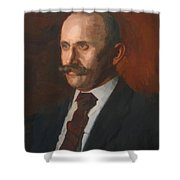 Portrait Of Charles Gruppe 1904 Shower Curtain