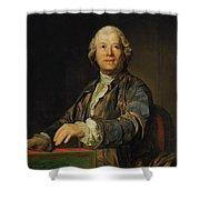 Portrait Of Christoph Willibald Ritter Von Gluck Shower Curtain
