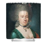 Portrait Of Countess Sparre Shower Curtain