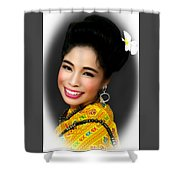 Portrait Of Culture Shower Curtain