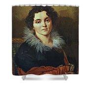 Portrait Of Darya Nikolaevna Chvostova 1814 Shower Curtain