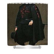 Portrait Of Don Pedro De Barberana Diego Rodriguez De Silva Y Velazquez Shower Curtain