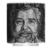 Portrait Of Douglas Shower Curtain