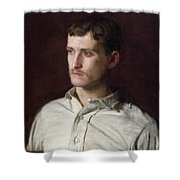 Portrait Of Douglass Morgan Hall Shower Curtain