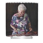 Portrait Of Edwinna Shower Curtain