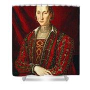 Portrait Of Eleanora Di Toledo Shower Curtain