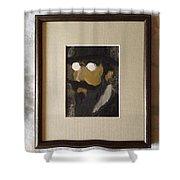Portrait Of Erik Satie Shower Curtain