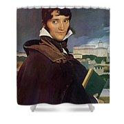 Portrait Of Francois Marius Granet Shower Curtain