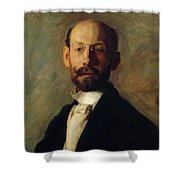 Portrait Of Frank B A Linton 1904 Shower Curtain