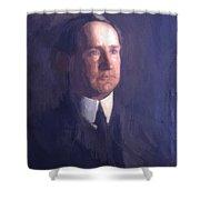 Portrait Of Frank Lindsay Greenwalt 1903 Shower Curtain