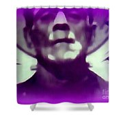 Portrait Of Frankie Shower Curtain