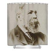 Portrait Of Friedrich Engels Shower Curtain