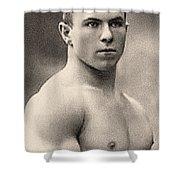 Portrait Of George Hackenschmidt Shower Curtain