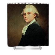 Portrait Of Henry Russell Shower Curtain