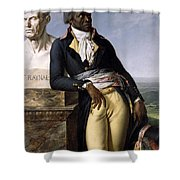 Portrait Of Jean-baptiste Belley Shower Curtain
