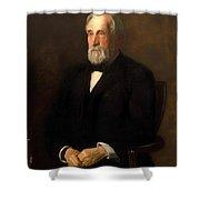 Portrait Of John B Gest Shower Curtain