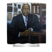 Portrait Of John Lewis Shower Curtain