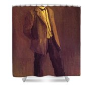 Portrait Of John Mclure Hamilton 1895 Shower Curtain