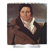 Portrait Of Joseph Antoine Moltedo Shower Curtain