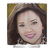 Portrait Of Kaitlyn Shower Curtain