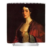 Portrait Of Katherine Cecil Sanford Shower Curtain
