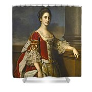 Portrait Of Lady Elizabeth Compton Later Countess Of Burlington Shower Curtain
