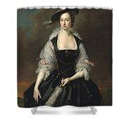 Portrait Of Lady Frances Courtenay Shower Curtain