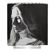 Portrait Of Leah S. Shower Curtain