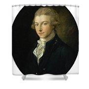 Portrait Of Louis Shower Curtain