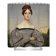 Portrait Of Louise Vernet Shower Curtain