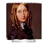 Portrait Of Madame Frederic Reiset 1847 Shower Curtain