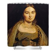 Portrait Of Madame Ingres Shower Curtain
