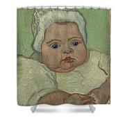 Portrait Of Marcelle Roulin Arles, December 1888 Vincent Van Gogh 1853  1890 Shower Curtain