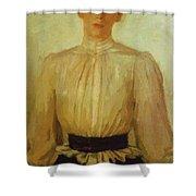 Portrait Of Maria Tolstaya Leo Tolstoy Daughter Shower Curtain