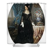 Portrait Of Marie Duplessis Shower Curtain