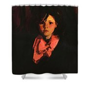 Portrait Of Mary Ann 1926 Shower Curtain