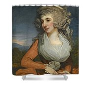 Portrait Of Mary Livius Shower Curtain